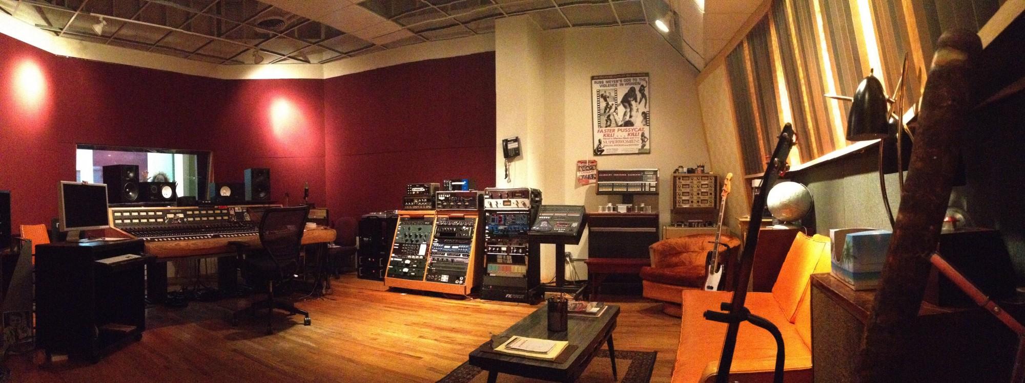 Studio B's Control Room