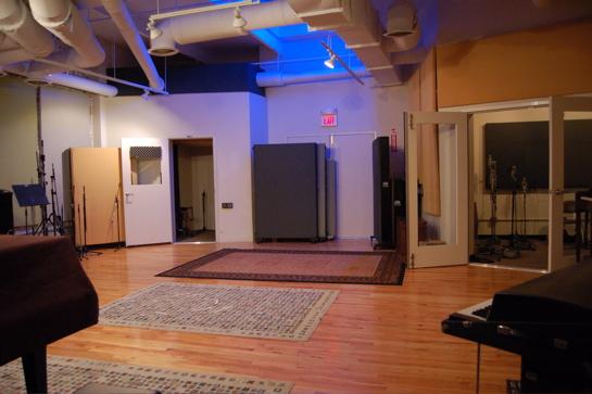 Studio A's Live Room