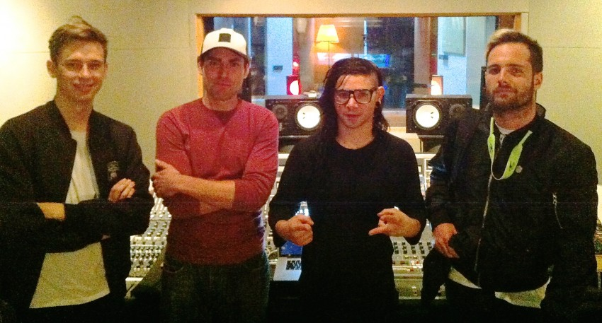 Skrillex and JT