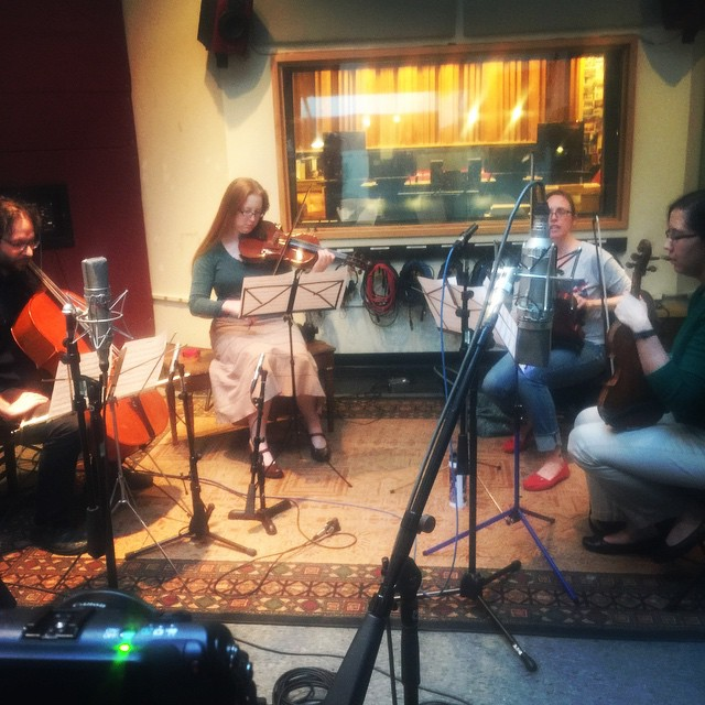 Strings in B ruby rose fox
