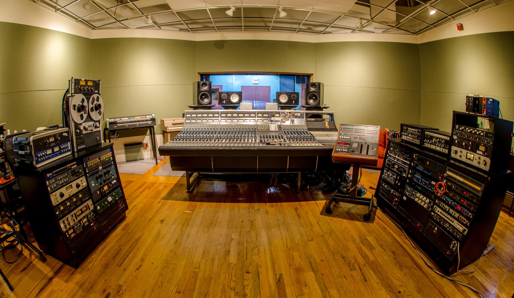 Studio A | Q Division Studios - Boston's Recording Studios