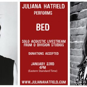 Juliana Hatfield Livestream 1/23/21