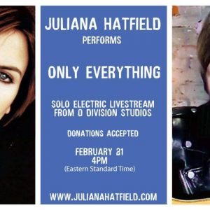Juliana Hatfield Performs Only Everything on Electric Guitar, Live from Studio A.